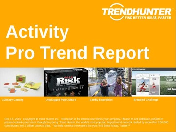 Activity Trend Report and Activity Market Research