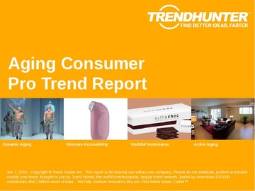 Aging Consumer Trend Report and Aging Consumer Market Research