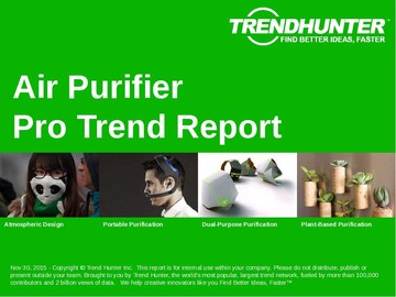 Air Purifier Trend Report and Air Purifier Market Research