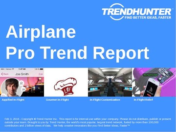 Airplane Trend Report and Airplane Market Research
