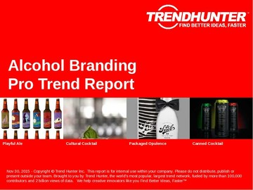 Alcohol Branding Trend Report and Alcohol Branding Market Research