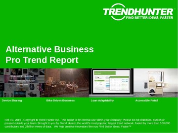 Alternative Business Trend Report and Alternative Business Market Research