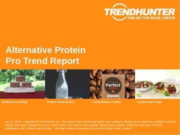 Alternative Protein Trend Report and Alternative Protein Market Research