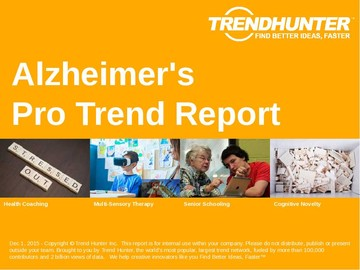 Alzheimer's Trend Report and Alzheimer's Market Research