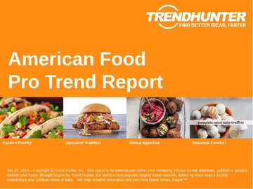 American Food Trend Report and American Food Market Research