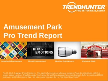 Amusement Park Trend Report and Amusement Park Market Research