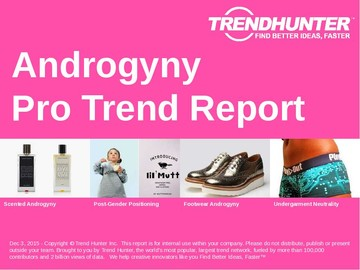 Androgyny Trend Report and Androgyny Market Research