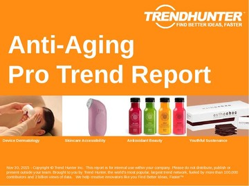 Anti-Aging Trend Report and Anti-Aging Market Research