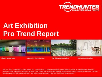 Art Exhibition Trend Report and Art Exhibition Market Research