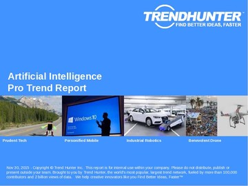 Artificial Intelligence Trend Report and Artificial Intelligence Market Research