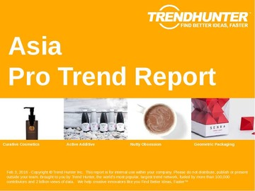 Asia Trend Report and Asia Market Research