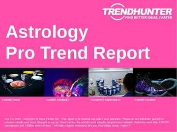 Astrology Trend Report and Astrology Market Research