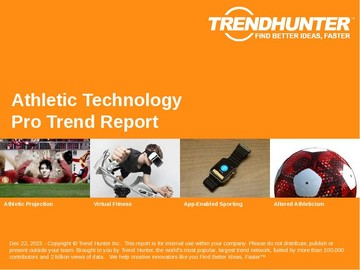 Athletic Technology Trend Report and Athletic Technology Market Research