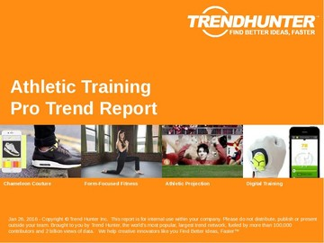 Athletic Training Trend Report and Athletic Training Market Research