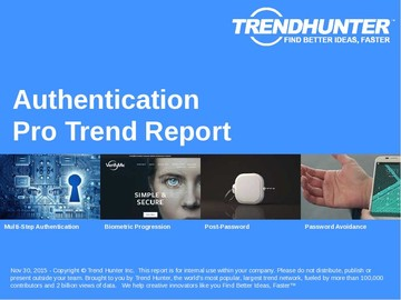 Authentication Trend Report and Authentication Market Research