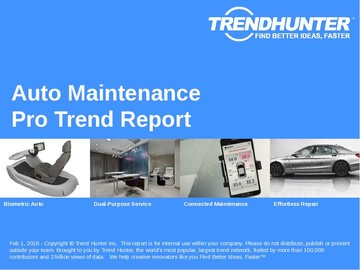 Auto Maintenance Trend Report and Auto Maintenance Market Research