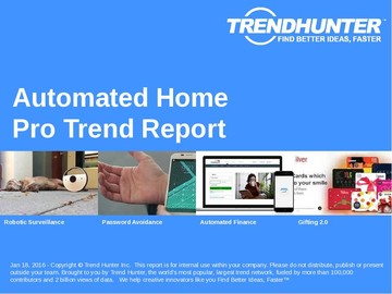 Automated Home Trend Report and Automated Home Market Research