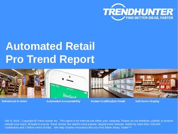 Automated Retail Trend Report and Automated Retail Market Research