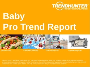Baby Trend Report and Baby Market Research