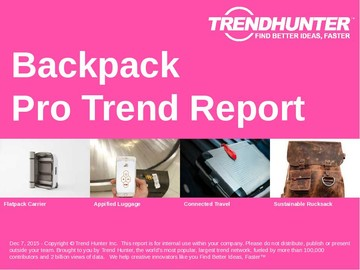 Backpack Trend Report and Backpack Market Research