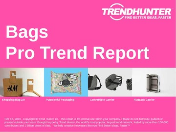 Bags Trend Report and Bags Market Research