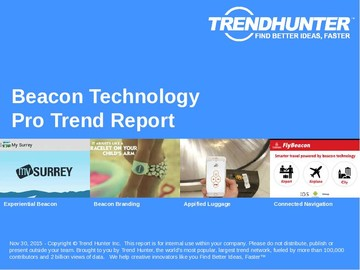 Beacon Technology Trend Report and Beacon Technology Market Research