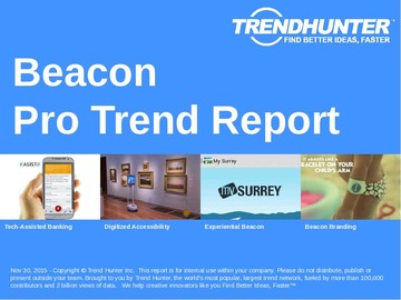 Beacon Trend Report and Beacon Market Research
