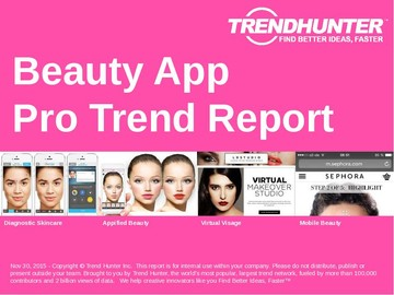 Beauty App Trend Report and Beauty App Market Research