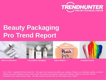 Beauty Packaging Trend Report and Beauty Packaging Market Research