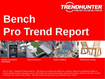 Bench Trend Report and Bench Market Research