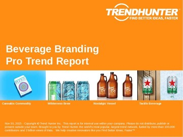 Beverage Branding Trend Report and Beverage Branding Market Research