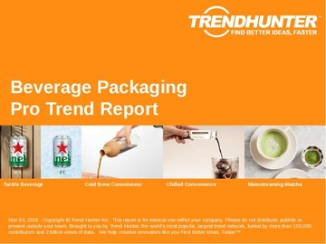 Beverage Packaging Trend Report and Beverage Packaging Market Research