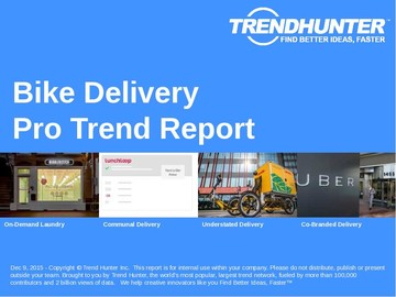 Bike Delivery Trend Report and Bike Delivery Market Research