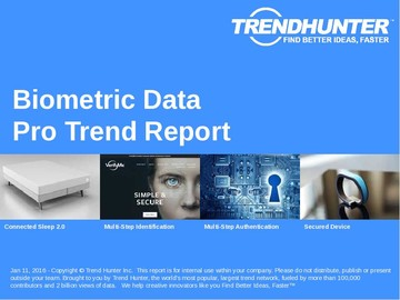 Biometric Data Trend Report and Biometric Data Market Research