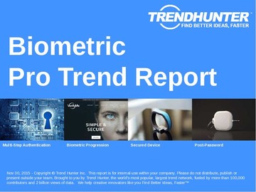 Biometric Trend Report and Biometric Market Research