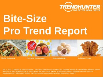 Bite-Size Trend Report and Bite-Size Market Research