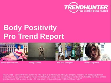 Body Positivity Trend Report and Body Positivity Market Research