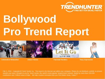 Bollywood Trend Report and Bollywood Market Research