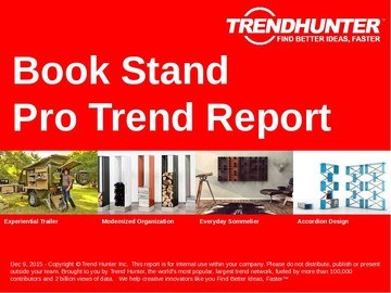 Book Stand Trend Report and Book Stand Market Research