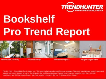 Bookshelf Trend Report and Bookshelf Market Research