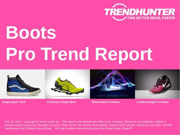 Boots Trend Report and Boots Market Research