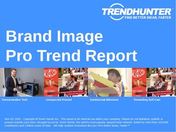 Brand Image Trend Report and Brand Image Market Research