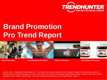 Brand Promotion Trend Report and Brand Promotion Market Research