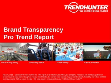Brand Transparency Trend Report and Brand Transparency Market Research