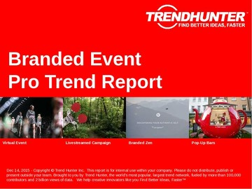Branded Event Trend Report and Branded Event Market Research