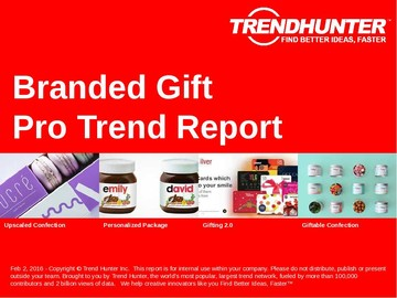 Branded Gift Trend Report and Branded Gift Market Research