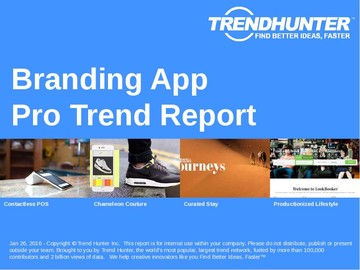 Branding App Trend Report and Branding App Market Research