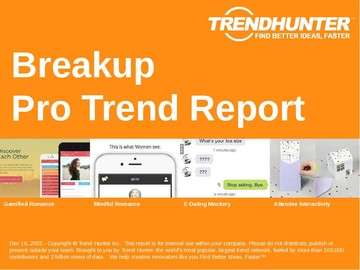 Breakup Trend Report and Breakup Market Research