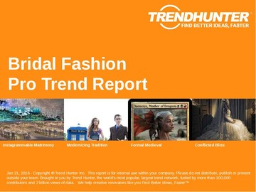 Bridal Fashion Trend Report and Bridal Fashion Market Research