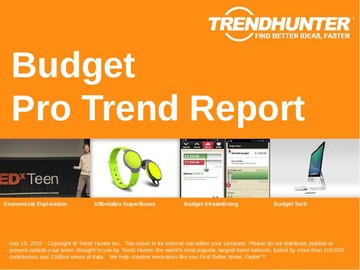 Budget Trend Report and Budget Market Research